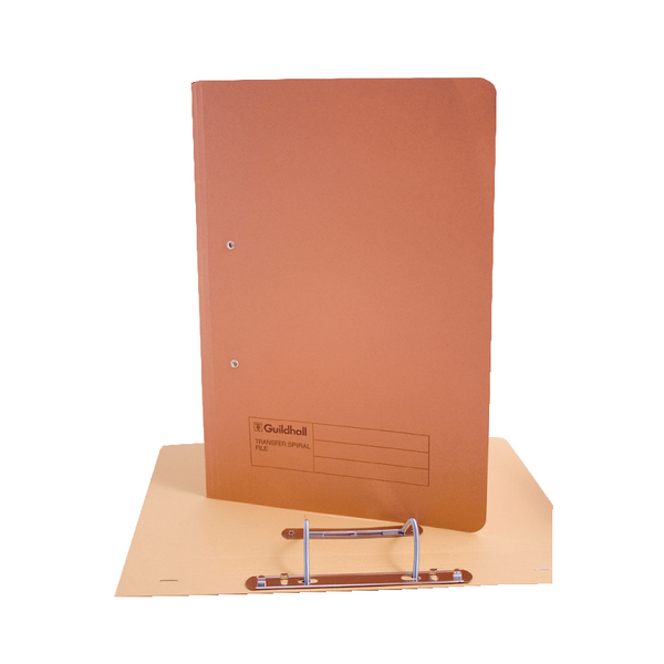 Guildhall Transfer File 285g Orange [Pack of 25]
