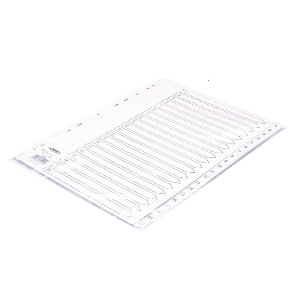 Concord Polypropylene 1-20 A4 Index White