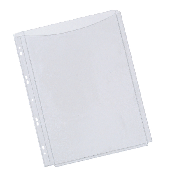 Q-Connect Full Length Cover Expanding Punched Pockets [Pack of 5]