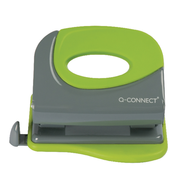Q-Connect Softgrip Metal Hole Punch