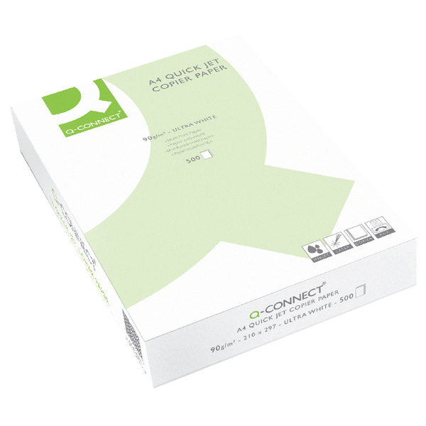 Q-Connect Premium Inkjet Paper A4 90g White [Pack of 500 Sheets]