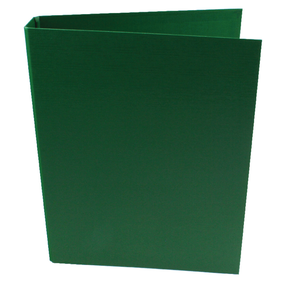 Q-Connect 2-Ring Binder A4 Polypropylene Green [Pack of 10]