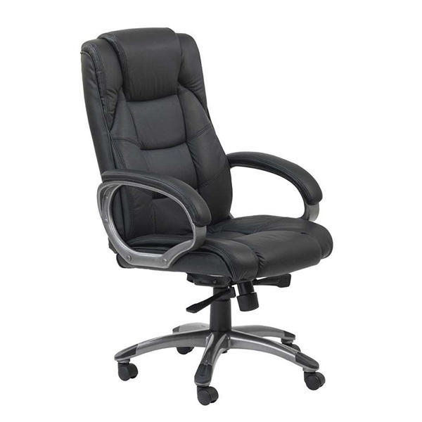 Arista Executive Leather Chair Black