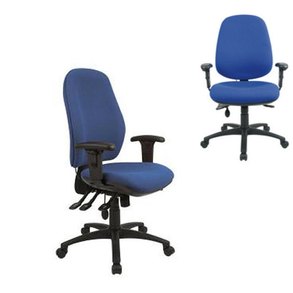 Cappela Aspire Deluxe High Back Posture Chair Blue