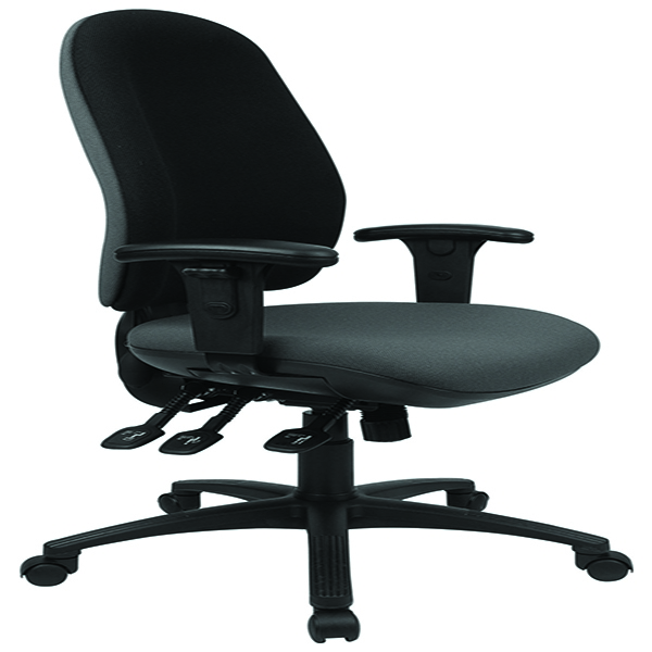 Cappela Aspire Deluxe High Back Posture Chair Black