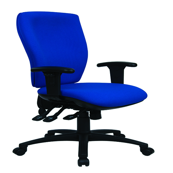 Cappela Energy High Back Posture Chair Blue