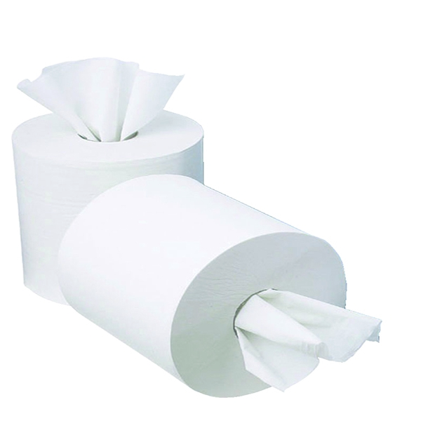 2work Mini Centrefeed Roll 1 Ply 120m [Pack of 12]