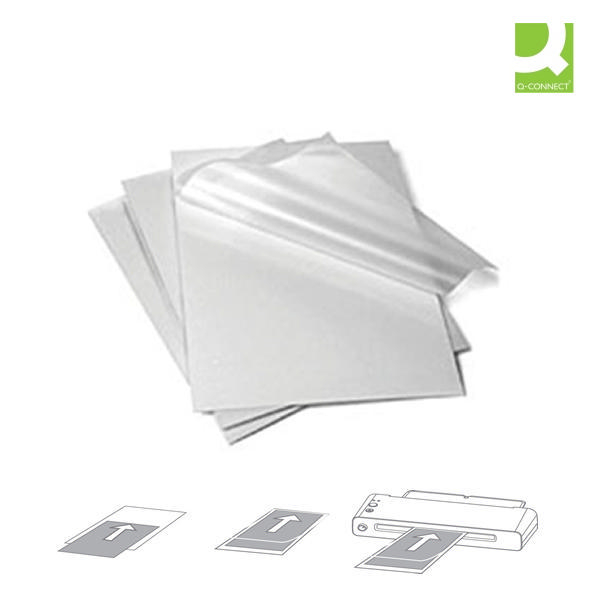 Q-Connect Laminating Pouches A4 80mic [Pack of 100]