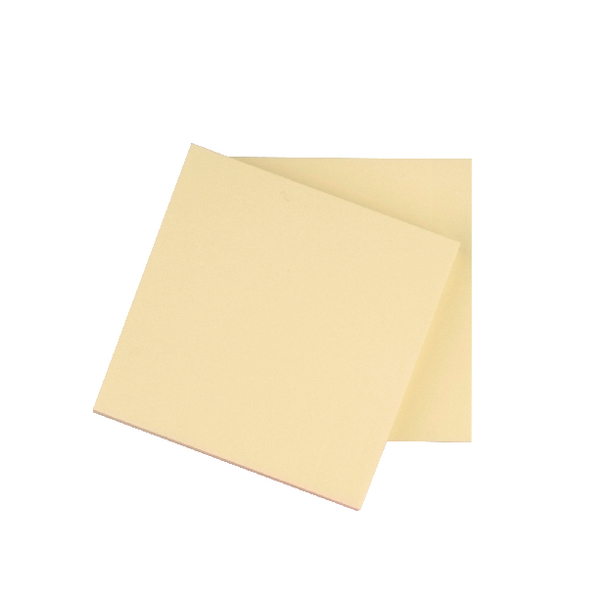 Q-Connect Quick Notes Medium Yellow 3x3 Inches [Pack of 12]