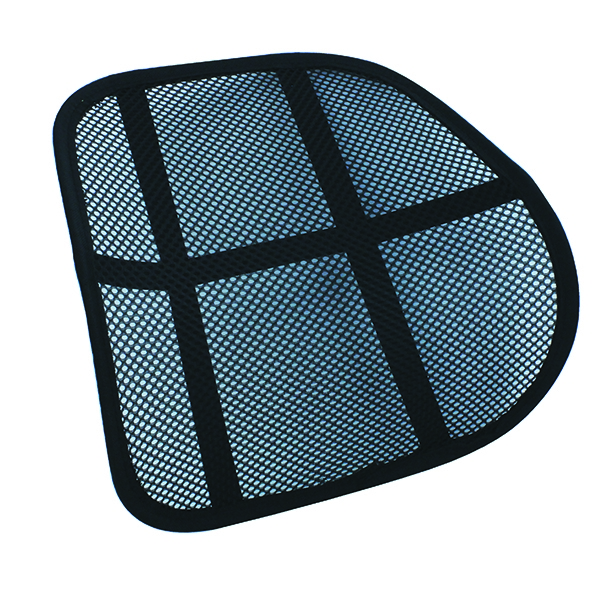 Q-Connect Mesh Back Support Black