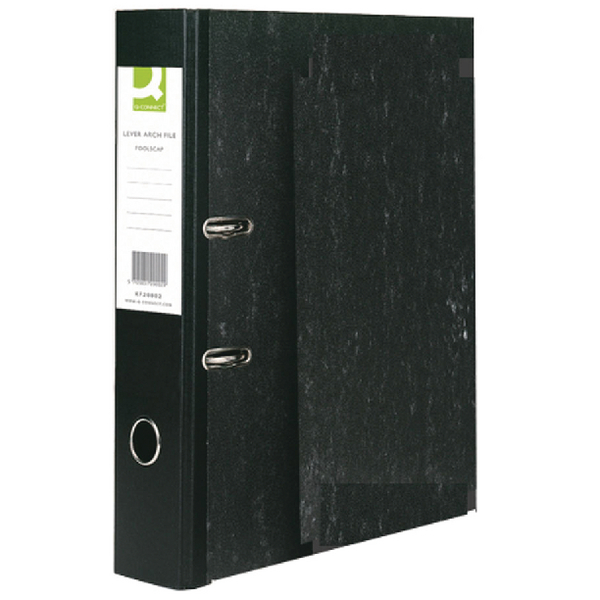 Q-Connect Lever Arch File Foolscap [Pack of 10]