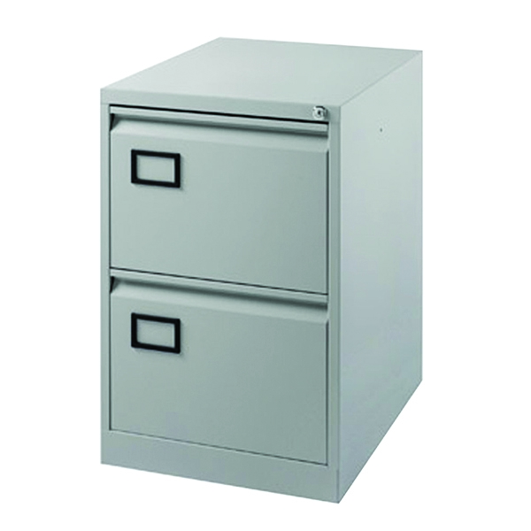Jemini Filing Cabinet 2 Drawer Grey