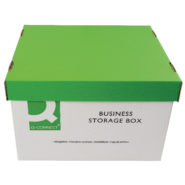 Q-Connect Business Storage Box [Pack of 10]