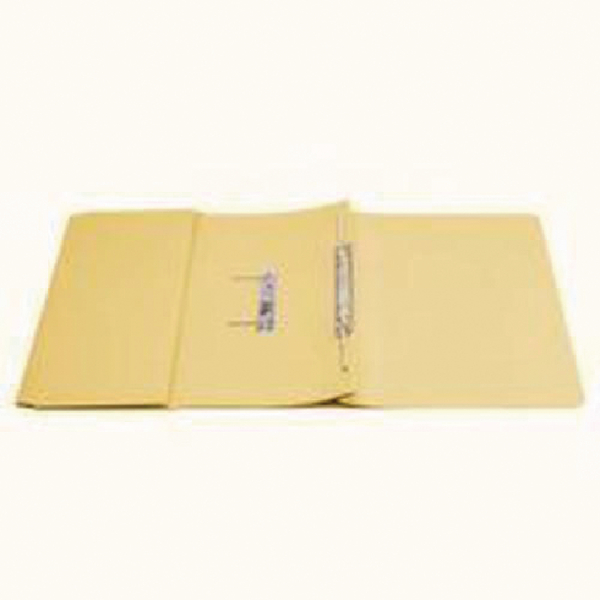 Q-Connect Transfer Pocket File Yellow [Pack of 25]
