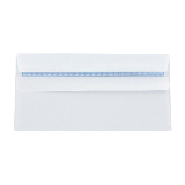 Q-Connect DL Envelopes Self Seal 80g White [Pack of 1000]