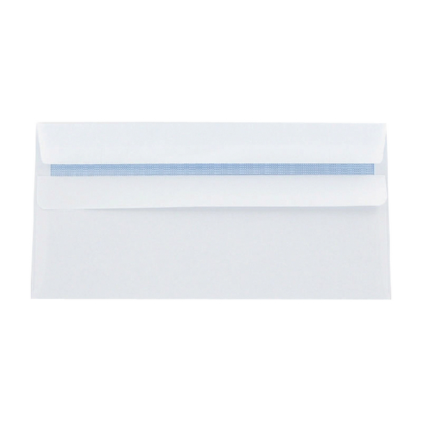 Q-Connect Envelopes Self Seal DL 90g White [Pack of 1000]