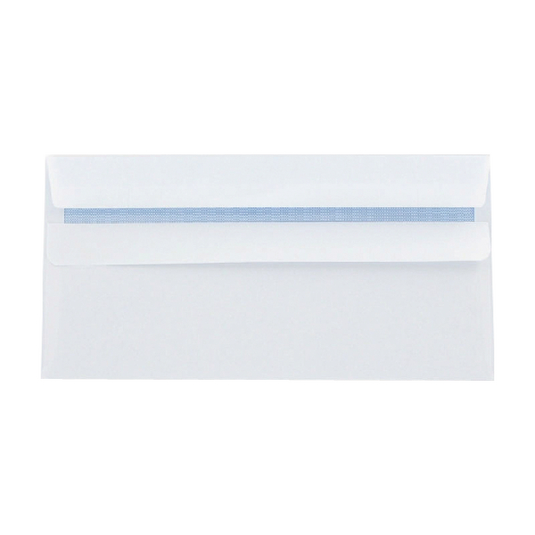Q-Connect Envelopes Self Seal DL 100g White [Pack of 1000]