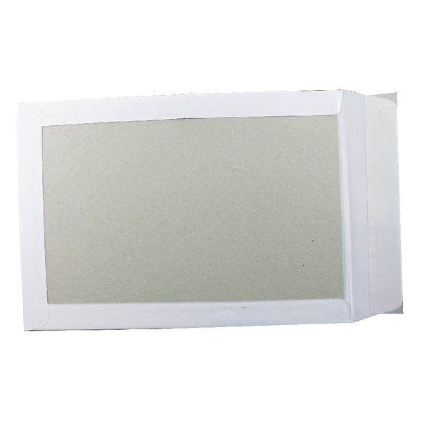 Q-Connect Board Backed Envelopes Peel and Seal C4 120g White [Pack of 125]