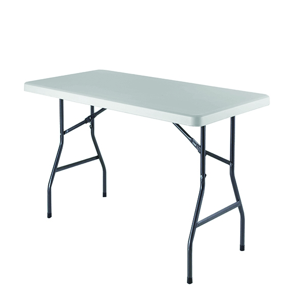 Jemini 1520mm Folding Rectangular Table White