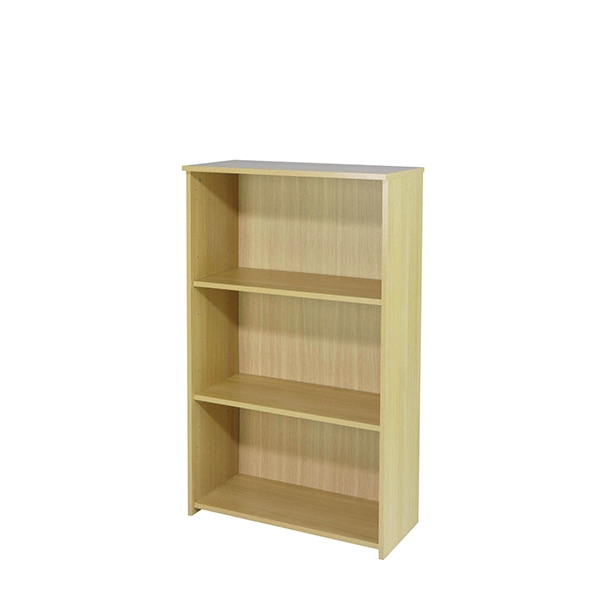 Jemini 1200mm Medium Bookcase Maple