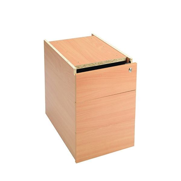 Jemini Intro Fixed Pedestal 3 Drawer Bavarian Beech [Alternative Picture 1]