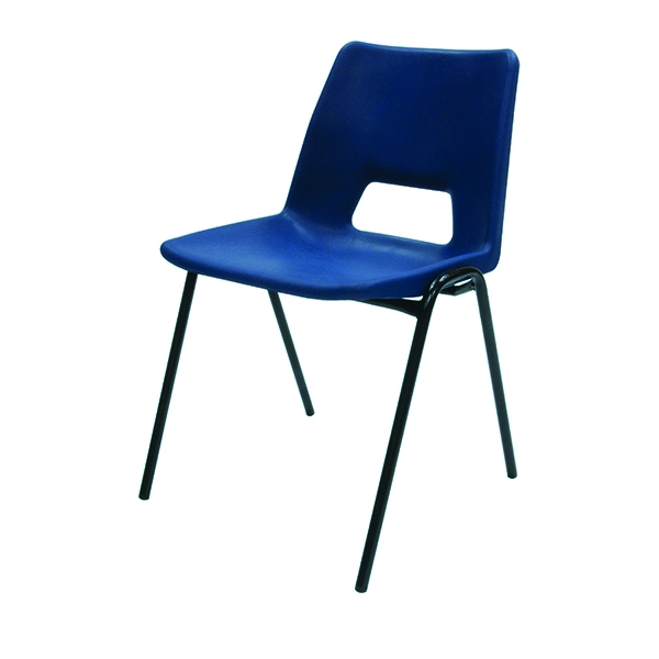 Jemini Polyprolylene Stacker Chair Blue