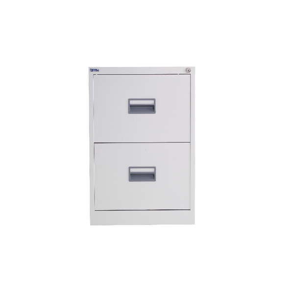 Talos 2 Drawer Filing Cabinet White