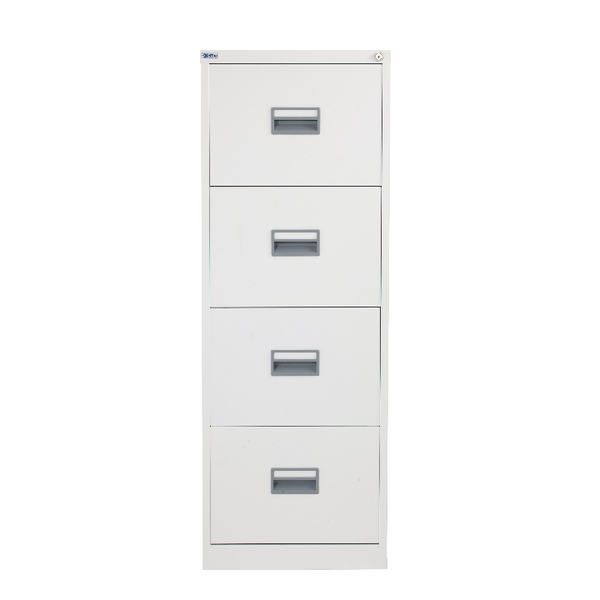 Talos 4 Drawer Filing Cabinet White