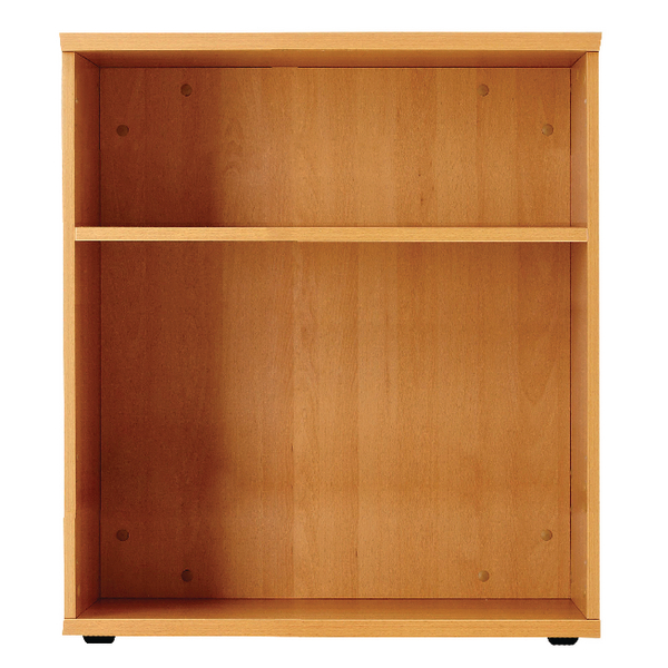Jemini 1000mm Bookcase 1 Shelf Oak