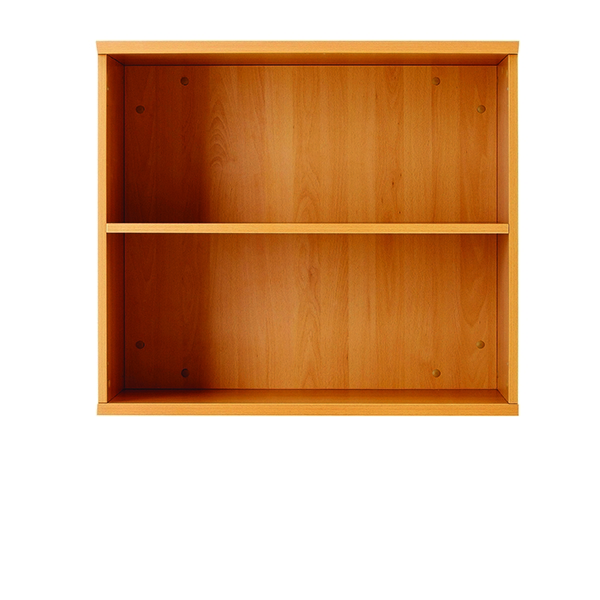 Jemini 1000mm Bookcase 1 Shelf Maple