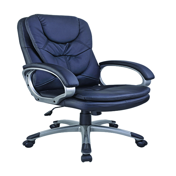 Arista Murcia Executive Leather Look Chair Black