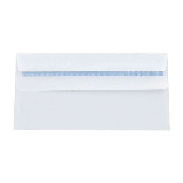 Q-Connect DL Envelopes 120g Self Seal White [Pack of 1000]