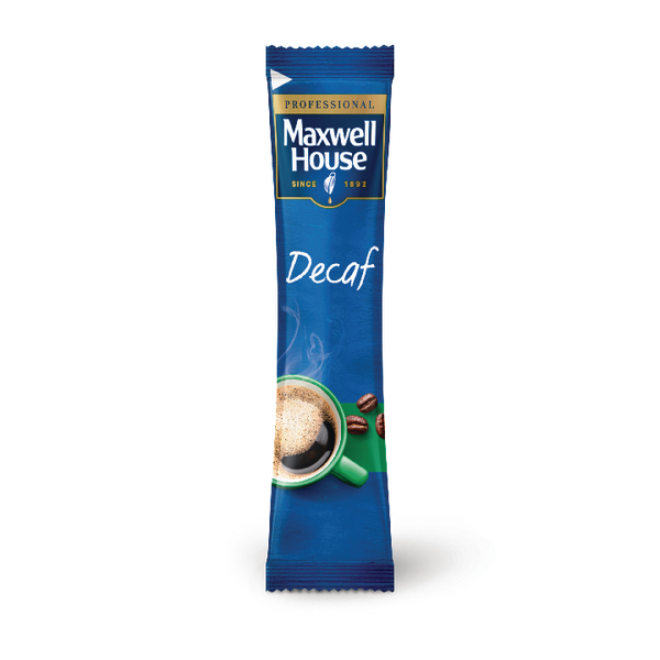 Maxwell House Instant Decaf Sticks [Pack of 1000]