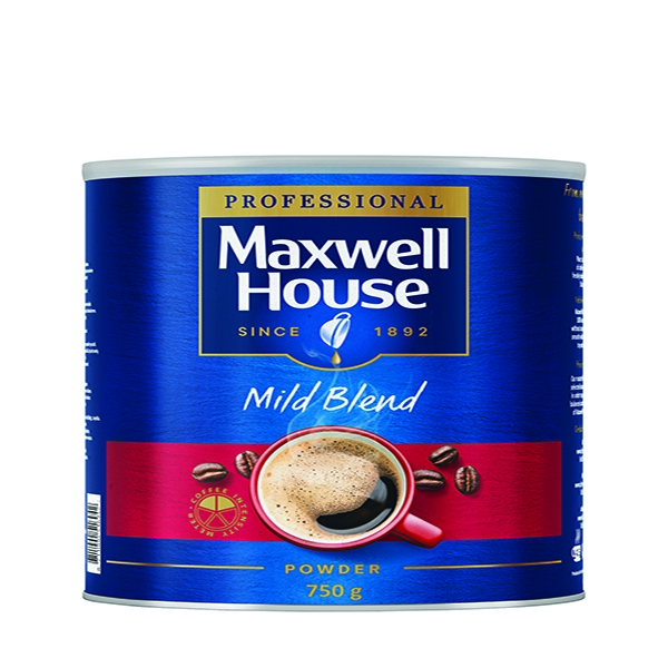 Maxwell House Powder 750g Tin