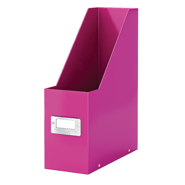 Leitz Click and Store Magazine File Pink