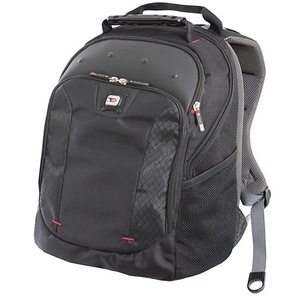 Gino Ferrari Juno 16 Inch Laptop Backpack Black