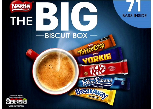Nestle Big Biscuit Box of 70 Biscuits