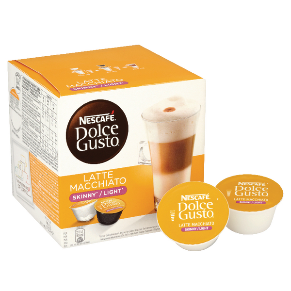 Nescafe Dolce Gusto Skinny Latte Capsules [Alternative Picture 1]
