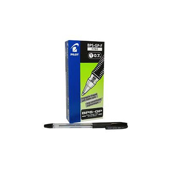 Pilot BallPen Fine Black [Pack of 12]