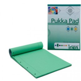Pukka A4 Refill Pad Green [Pack of 6]