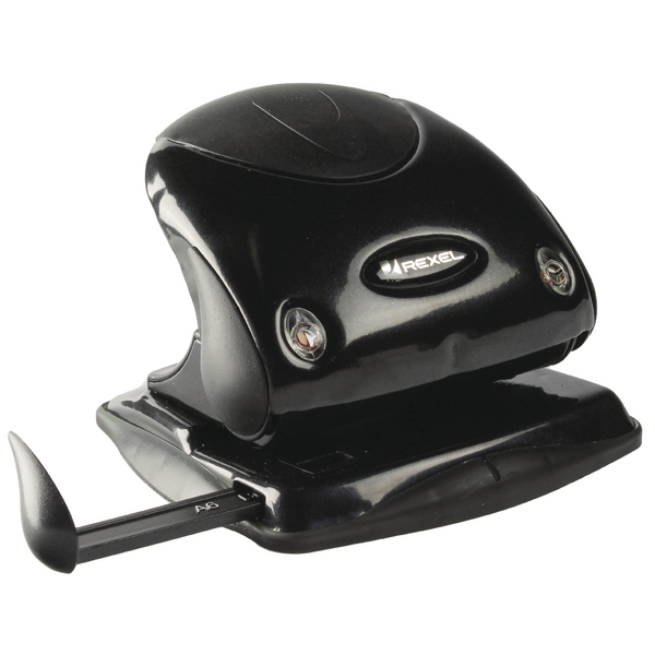 Rexel Premium Hole Punch P225 Black