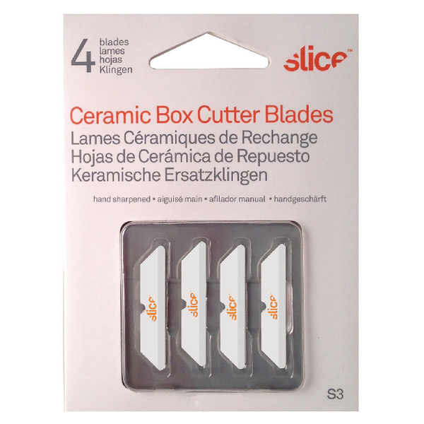 Slice Blades For Box Cutters 34mm [Pack of 4]