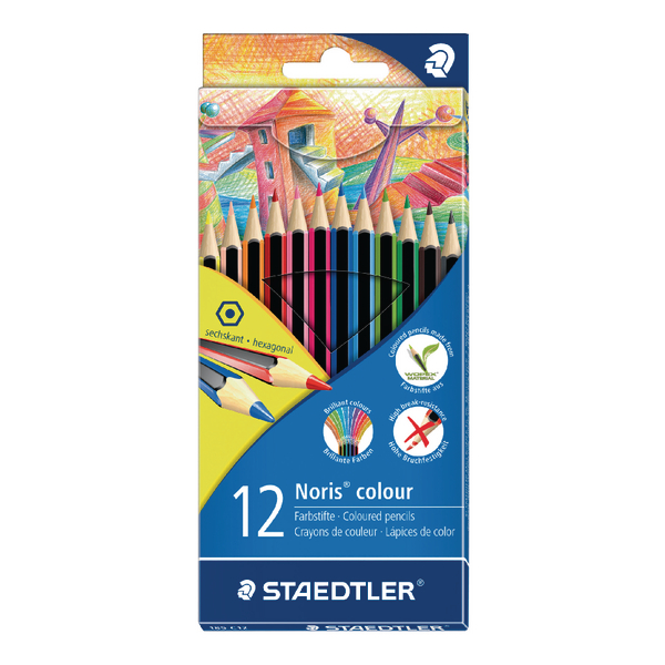 Staedtler Noris Colouring Pencils [Pack of 12]