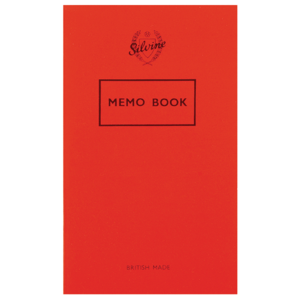 Silvine Memo Book [Pack of 24]