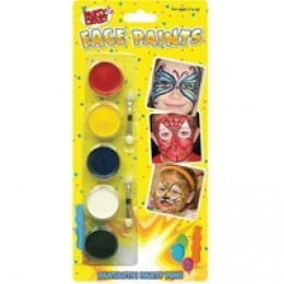 Tallon 5 Face Paints [Pack of 12]