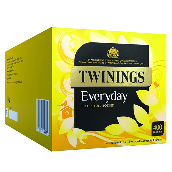 Twinings Everyday Tea Bags [Pack of 400]