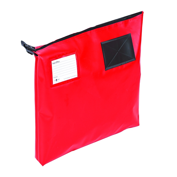 GoSecure Mail Pouch Red 470x336x76mm