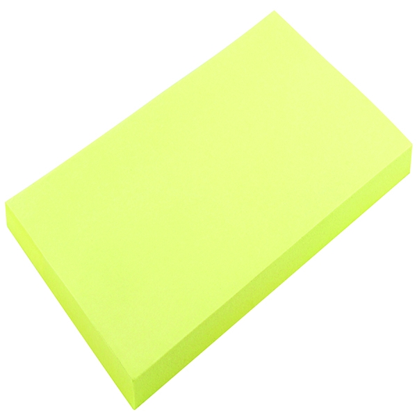 Yellow Note 75x125mm [Pack of 12]