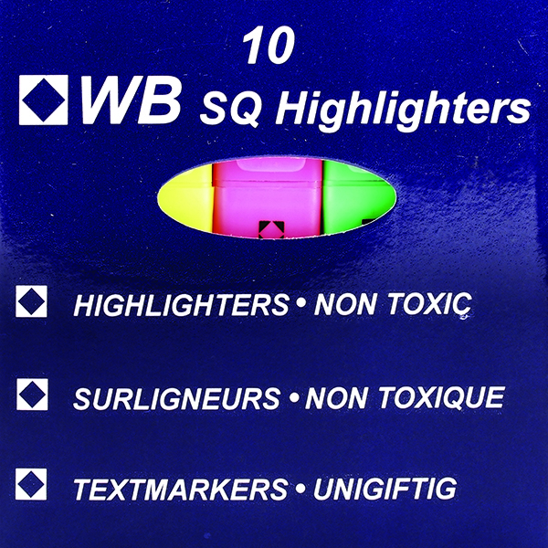 Highlighters Assorted [Pack of 10]