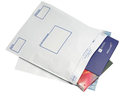 Postsafe Envelopes Peel and Seal 460x430mm Opaque [Pack of 100]